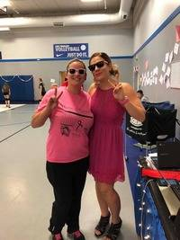 Hope of Detroit Academy partnered with Trillium for our 2nd annual PINK OUT volleyball game. Combined, both programs raised over $1000.00 to donate to the Breast Cancer Research Foundation.